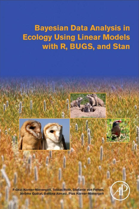 Bayesian Data Analysis in Ecology Using Linear Models with R, BUGS and Stan
